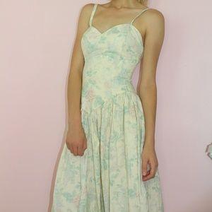 Jessica Mcclintock Bridal Floral Tea Party Dress